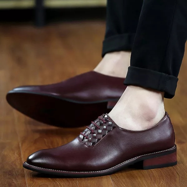 Red Wine Color Shoes: Buy Red Wine