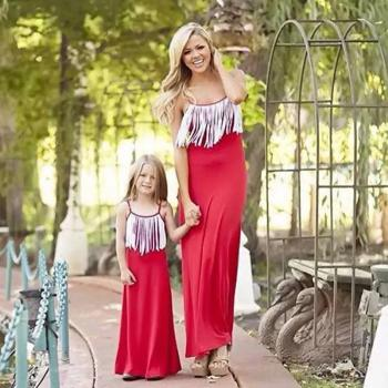 Mother Daughter Same Dress For Wedding Buy Mother Daughter Same Dress For Wedding Online At Low Prices Club Factory,Middle Aged Outdoor Wedding Summer Wedding Guest Dresses