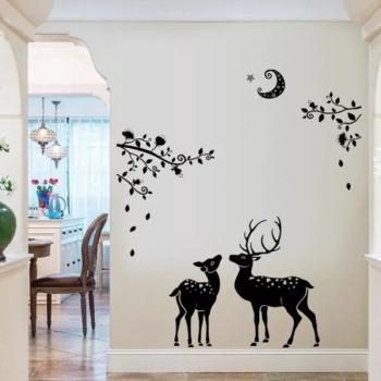 New Elks Family Living Room Home Decor Buy Stickers Wallpapers At Factory Price Club Factory