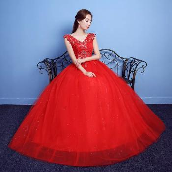 Red Wedding Dresses Buy Red Wedding Dresses Online At Low Prices Club Factory