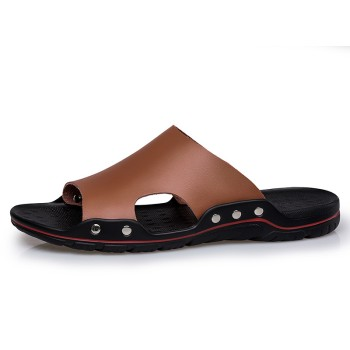 Skin Sandals Male Extra Large Code Flip