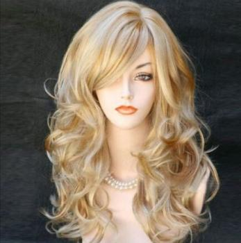 Blonde Updo Wig With Bangs Buy Blonde Updo Wig With Bangs Online At Low Prices Club Factory