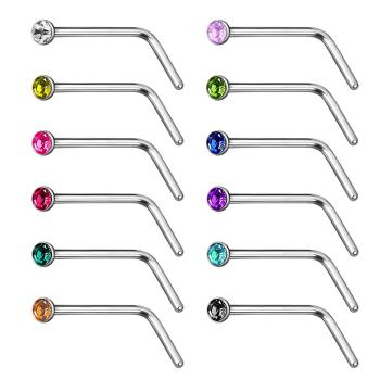 18 Gauge Nose Piercing Buy 18 Gauge Nose Piercing Online At Low
