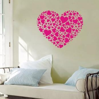 Heart Shaped Wall Decor Buy Heart Shaped Wall Decor Online At Low Prices Club Factory