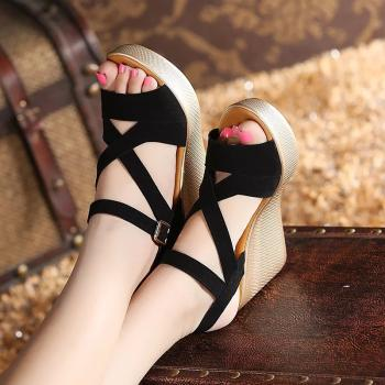 peach color wedges