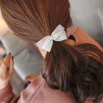 Super Beauty Solid Hollow Bow Double Knot Hair Buy Hair Rings At Factory Price Club Factory